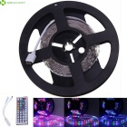 5M 24W 3000lm RGB 300-5630 SMD LED Flexible Light Strip / 44 Key RF (DC 12V)
