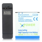 Replacemet 3200mAh Li-ion Battery+ Charging Dock for Samsung Galaxy J5