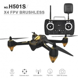 Hubsan H501S X4 RTF RC Quadcopter with FPV HD Camera, GPS - White