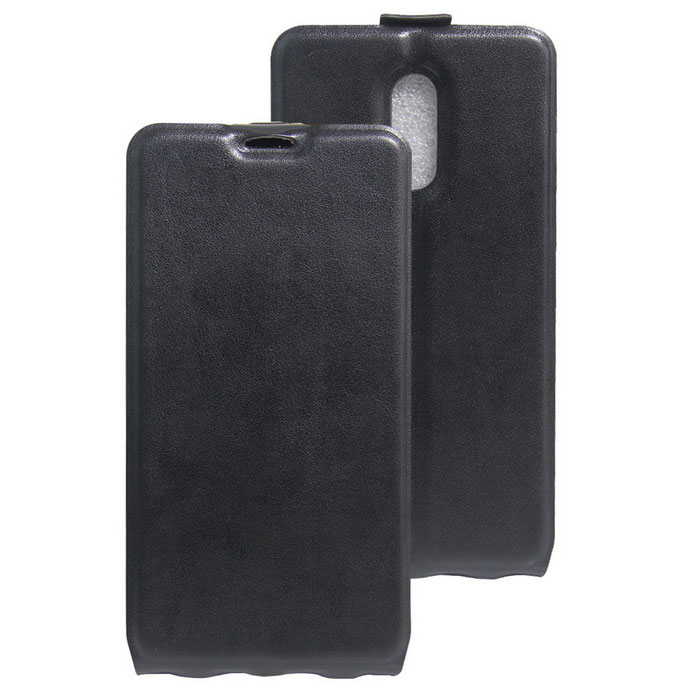 Flip-up Protective PU Leather Case Cover for Xiaomi Redmi Pro - Black