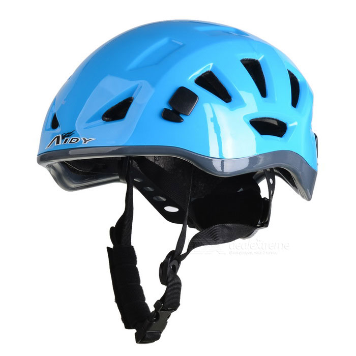 AIDY Outdoor Adjustable Bike Cycling Helmet - Blue (L)