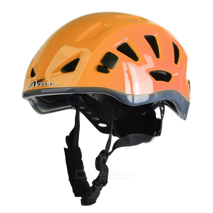AIDY Outdoor Adjustable Bike Cycling Helmet - Orange (L)