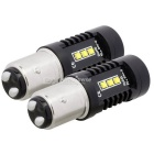 MZ 1157 12 luces de freno del coche del LED de XB-D / lámparas de cola de BAY15D (2 PCS)