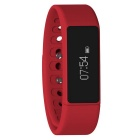 Eastor I5 Plus Smart Bracelet Bluetooth Touch Screen Watch Band - Red