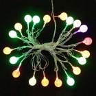 15.7ft LED de color cambiante 20-LED bola de hielo centelleo cadena de luz (110V)