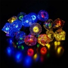 20.67ft 3W LED Colorful 50-LED Diamond Twinkle Light String (AC 220V)