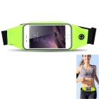 Waterproof Sport Gym Waist Bag for IPHONE 6 / 6S - Fluorescent Green