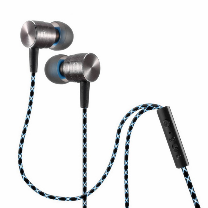 Plextone X41M In-Ear Earphone Headset w/ Mic - Silvery GreyHeadphones<br>Form  ColorSilver GreyModelX41MMaterialAluminum alloy + TPEQuantity1 DX.PCM.Model.AttributeModel.UnitShade Of ColorSilverHeadphone StyleBilateral,In-EarConnection3.5mm WiredCable Length120 DX.PCM.Model.AttributeModel.UnitSNR105dB/mWSensitivity115dBTHDRemoteYesWith MicrophoneBuilt-inDriver Unit10mm *2pcsFrequency Response20Hz~20KHzImpedance16 DX.PCM.Model.AttributeModel.UnitChannels2.0Connector3.5mmLeft &amp; Right Cables TypeEqual LengthVolume ControlNoBrandPLEXTONEBluetooth VersionNoWaterproof LevelIPX0 (Not Protected)Applicable ProductsUniversalHeadphone FeaturesPhone Control,Magnetic Adsorption,Volume Control,With Microphone,PortableSupports MusicYesSupport Memory CardNoSupport Apt-XNoPacking List1 * X41M Earphone2 * Pairs of ear caps1 * Clip<br>