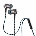 Plextone X41M In-Ear Earphone Headset w/ Mic - Silvery Grey