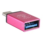 Hat-Prince USB 3.0 to USB 3.1 Type-C Converter Adapter - Deep Pink
