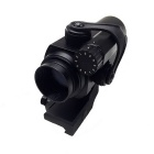 Aluminum Alloy Professional  Red / Green Laser Sight Rifle Scope with Gun Mount
