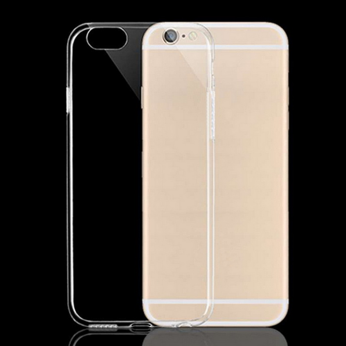 Protective TPU Back Case for IPHONE 6/6S - Transparent