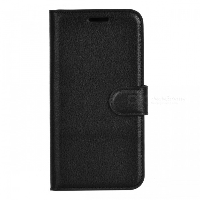 Lichee Pattern Protective Case for  Doogee X5 Max - Black