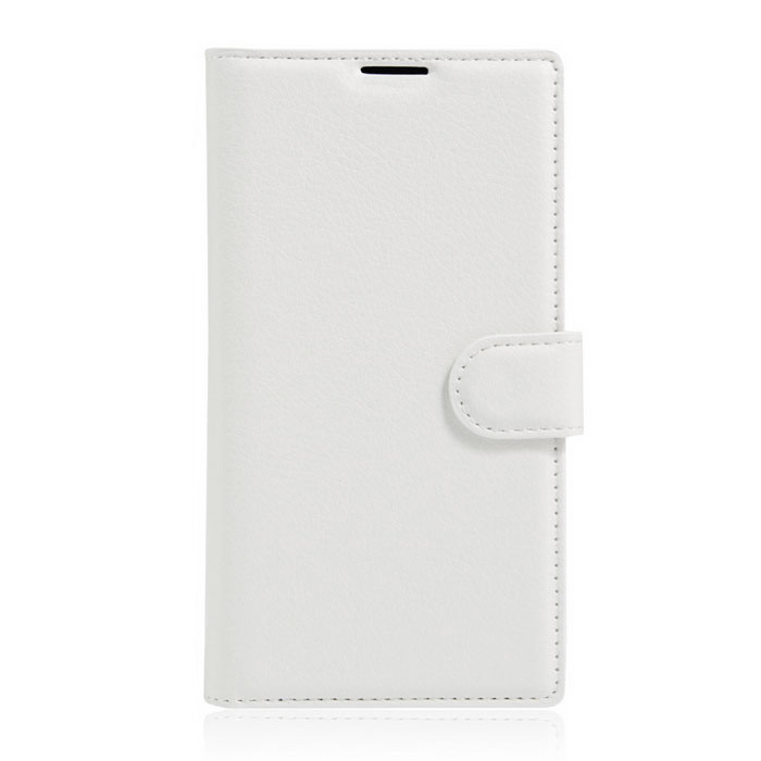 Lichee Pattern Protective Case for Doogee Y300 - White
