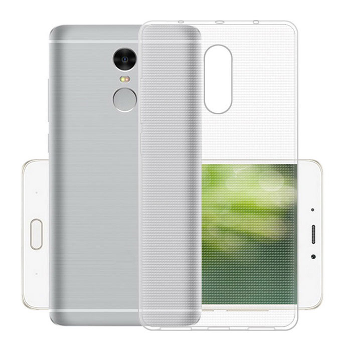 Ultra-Thin TPU Back Cases for Xiaomi Redmi Note 4 - Transparent