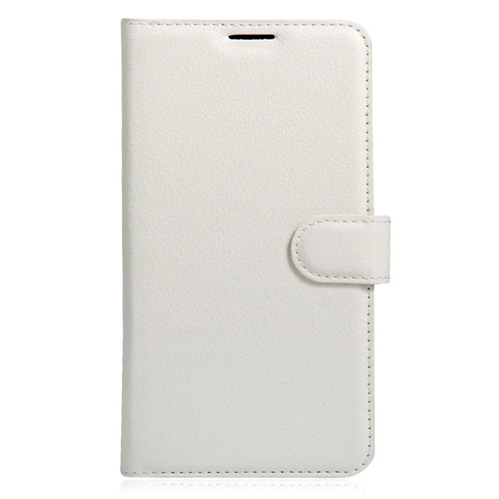Lichee Pattern Protective Case for Doogee T6 - White