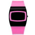 MAIKOU MK006 LED Date Display Digital Watch - Rose Red
