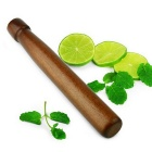 Solid Wooden Cocktail Mint Leaves / Lime Slices Crushing Tool