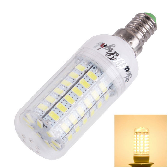 YouOKLight E14 4W LED Corn Bulb Lamp Warm White 69-SMD 5730