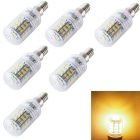 YouOKLight E14 3.5W LED Corn Bulbs Warm White Light 48-SMD 2835 (6PCS)