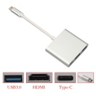 BSTUO Type-C USB 3.1 Male to USB3.0/HDMI/Type C Female Charger Adapter