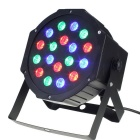 HESSION 24W 18 LEDs RGB Bar Light Stage Light - Black (US Plug)