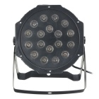 Hession 24W 18 LED RGB Bar Light Stage Light - Black (USA Zátky)