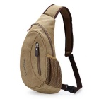 LOCAL LION Recreational Aslant Single Shoulder Bag - Khaki (5L)