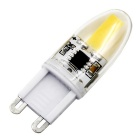 Meshion G9 regulable 3W 300lm 1-COB LED bombilla blanca caliente (ac 220V)
