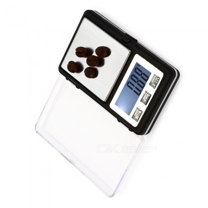 MH-336 100g/0.01g Mini Pocket Scale / Gold Jewelry Scale - Black