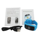 ZGPAX S22 SOS Kid's GPS Online Tracking Digital Watch Phone - Blue