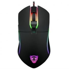 Motospeed V30 Wired Optical USB Gaming Mouse - Black