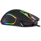 motospeed V30 kablet optisk USB gaming mus - svart