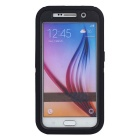 3 in1 Shockproof Combo Phone Cases for SAMSUNG GALAXY S6 - Black