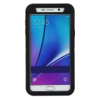 3 in1 Shockproof Combo Phone Cases for SAMSUNG GALAXY NOTE 5 - Black