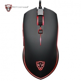 Motospeed V40 Electron-optical USB Gaming Mouse - Black