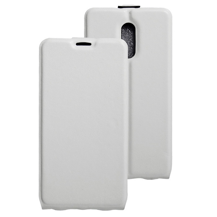Flip-up Protective PU Leather Case Cover for Xiaomi Redmi Pro - White