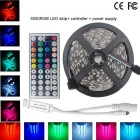 60W Waterproof LED Strip Light RGB 4500lm SMD 5050 (EU Plug / 5m)