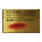 BST-41 3.7V 2000mAh Rechargable Cell Phone Battery for Sony X10 Xperia