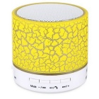 A9 Magic 3W Cracking Patte Bluetooth Mini Subwoofer Speaker - Yellow