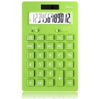 Solar Dual Power Desktop Office Calculator