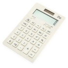 DL -1657 12 dígitos calculadora de escritorio - blanco