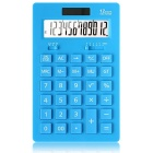 DL-1657 12-Digit Desktop Calculator - Blue