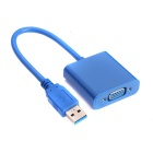 Conversor de Adaptador Multi-Display USB 3.0 a VGA BSTUO - Azul