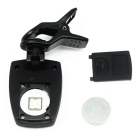 "AROMA AT-300U 1.2"" LCD Clip-on Chromatic Tuner for Ukulele - Black"