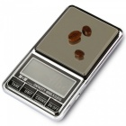 DS-29 600g/0.01g  Precision Electronic Jewelry Scale - Silver + Black