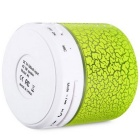 Magic Crack Padrão Mini Subwoofer Wireless Speaker Bluetooth - Verde