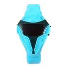 MAIKOU Cobra Head Style Red LED Digital Wrist Watch - Sky Blue