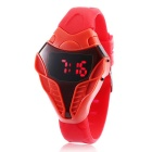MAIKOU Cobra Head Style Red LED Digital Wrist Watch - Red