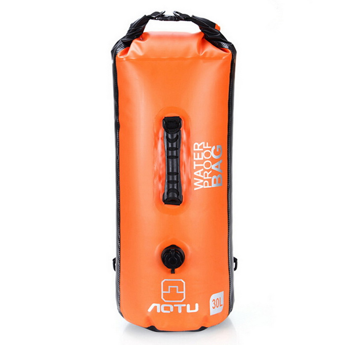 AOTU AT6615 30L Inflatable Large Capacity Waterproof Backpack - Orange